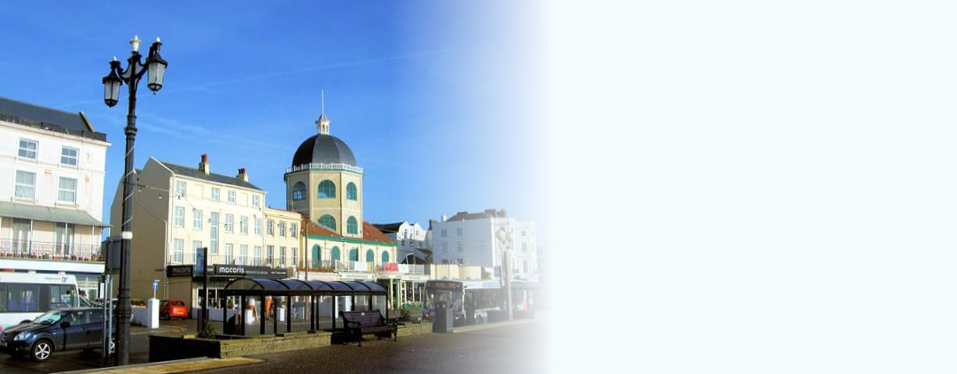 Holiday apartment on the seafront at Worthing